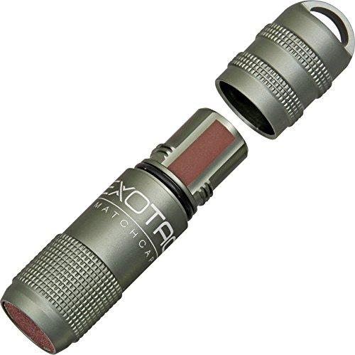 Exotac MatchCap Gunmetal Gray