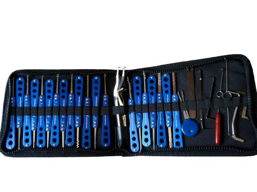 Picklock24 Lot de 20outils de serrurier, haute qualité