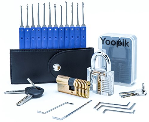 Test du Yoopik Kit Ensemble de Crochetage Lockpicking